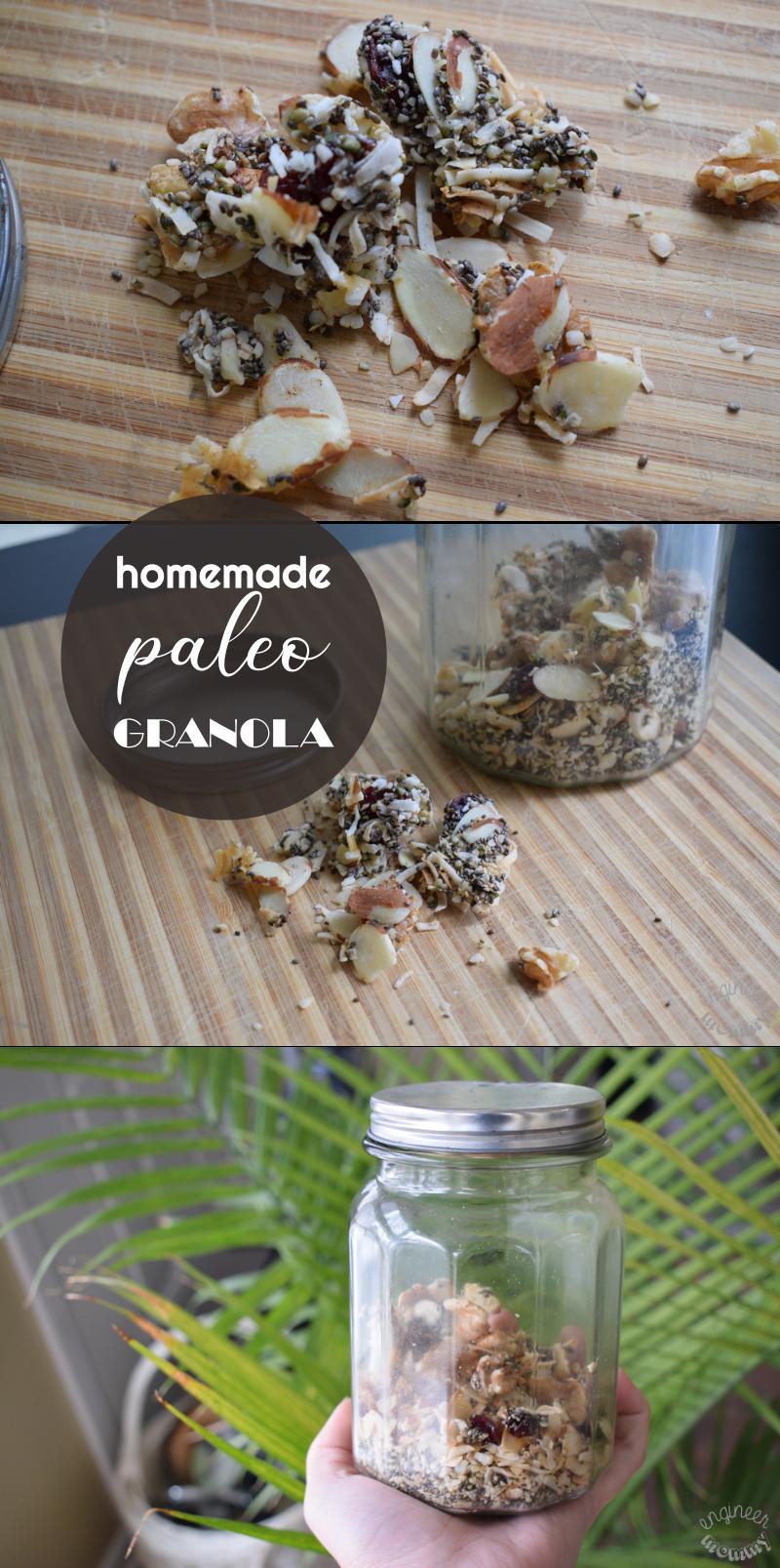 Simple Homemade Paleo Granola – Easy to Customize!