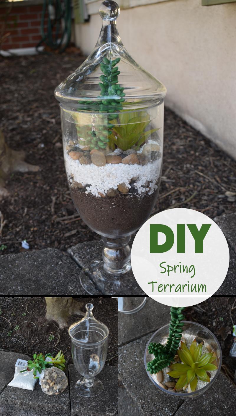 Easy DIY Spring Terrarium