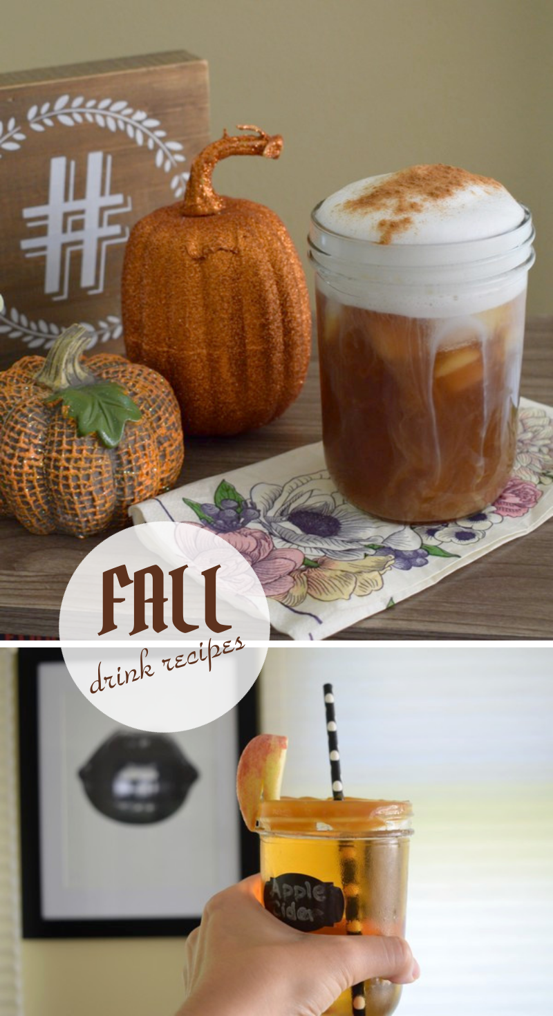 3 Drink Recipes Perfect for Fall